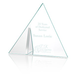 Frost Triangle Crystal Award Main Image