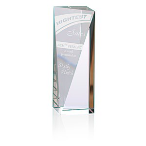 "Skyline Sheared Crystal Tower Award - 6"" Main Image"