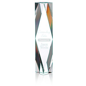 "Diamond Crystal Tower Award - 10"" Main Image"