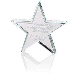 Star Crystal Award - 4""