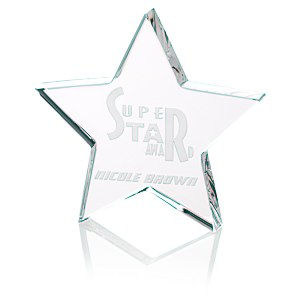 Star Crystal Award - 5""