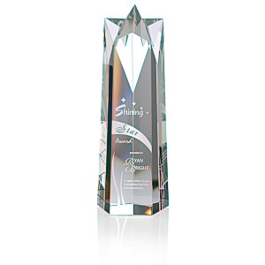Soaring Star Crystal Tower Award - 10""
