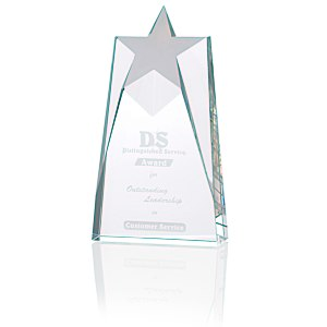 "Shooting Star Crystal Award - 8"" Main Image"