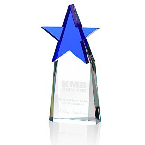 Colorful Star Crystal Award Main Image