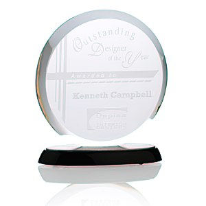 "Corona Starfire Glass Award - 7"" Main Image"