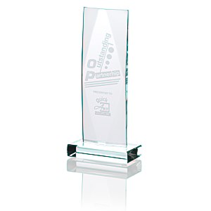"Captivate Starfire Glass Award - 9"" Main Image"