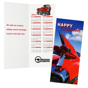 Greet n Keep Calendar Card - Cruisin