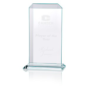 "Aspire Starfire Glass Award - 9"" Main Image"