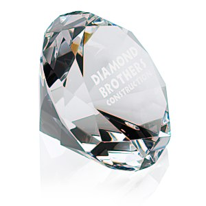 Diamond Crystal Paperweight Main Image