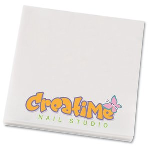"Bic See Thru Adhesive Notepad - 3"" x 3"" - 50 Sheet Main Image"