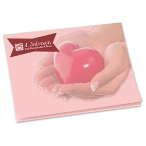 "Bic See Thru Adhesive Notepad - 3"" x 4"" - 25 Sheet Main Image"