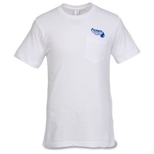 Canvas Jersey Pocket T-Shirt - White