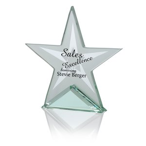 Star Jade Glass Award Main Image