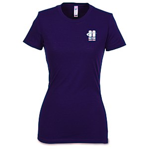 Bella+Canvas Poly/Cotton Blend T-Shirt - Ladies' Main Image