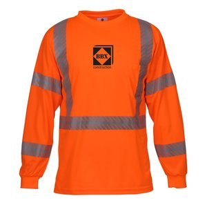 ML Kishigo Class 3 LS Safety T-Shirt Main Image