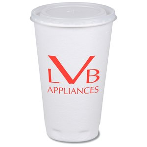 Trophy Hot/Cold Cups w/Straw Slotted Lid - 16 oz. Main Image