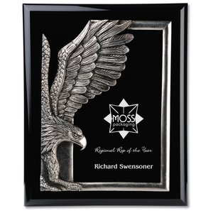 "Majestic Eagle Plaque - 13"" - Black Main Image"