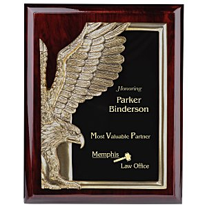 "Majestic Eagle Plaque - 10"" - Cherry Main Image"