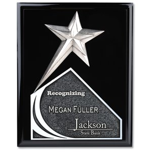 "Soaring Star Plaque - 12"" - Black Main Image"