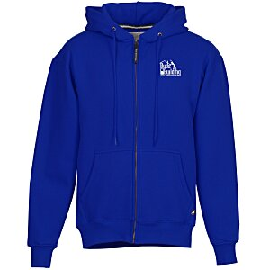 Cotton Rich Zip Front Hoodie - Screen Main Image