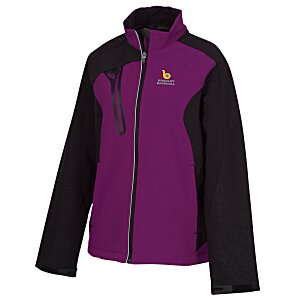 Terrain Colorblock Soft Shell - Ladies' Main Image