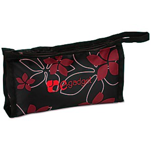 Pedicure Spa Kit - Black Floral Main Image