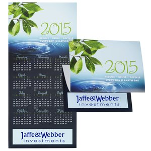 Eco Friendly Calendar Greeting Card Main Image