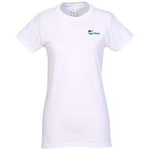 District Concert Tee - Ladies' - White - Screen Main Image