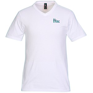 District Concert V-Neck Tee - Men's - White - Screen Main Image