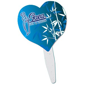 Grow Stick Mini Hand Fan - Heart Main Image