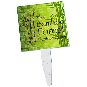 Grow Stick Mini Hand Fan - Square Main Image