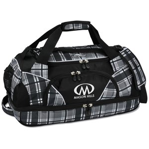 "High Sierra 24"" Crunk Cross Sport Duffel - Plaid - 24 hr Main Image"