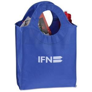 Polypropylene Circle Tote - Closeout Main Image