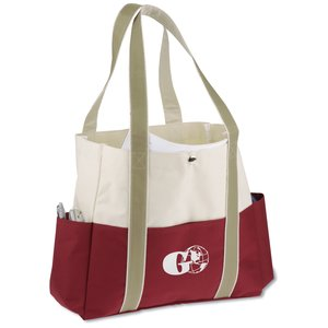 Carry All Pocket Tote - Closeout Main Image