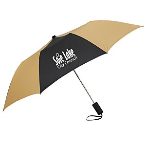 "42"" Folding Umbrella with Auto Open - Alternating - 24 hr Main Image"