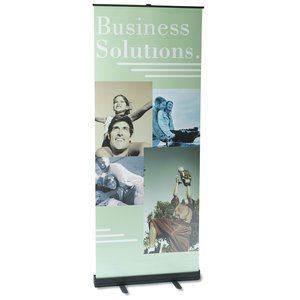 "Economy Retractor Banner Display - 32"" - 24 hr Main Image"