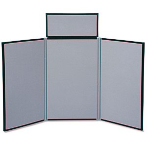 Fold N Go Tabletop Display - 4' - Blank - 24 hr
