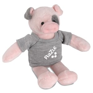 Mascot Beanie Animal - Pig - 24 hr