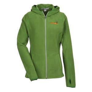 Microfleece Full Zip Hoodie - Ladies' Main Image