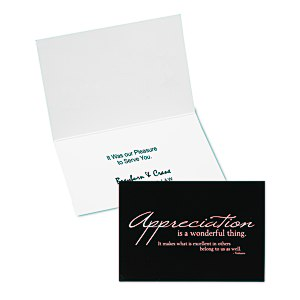 Appreciation Quote Note Card