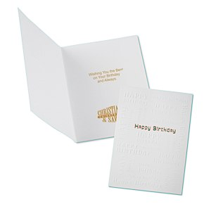 All Over Happy Birthday Greeting Card Main Image