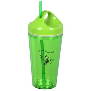 Loop Acrylic Tumbler with Straw - 16 oz. Main Image