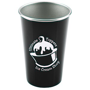 Stainless Steel Pint Glass - 16 oz. Main Image