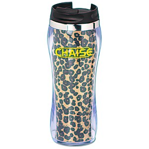 Hollywood Travel Tumbler - Leopard - 14 oz. Main Image