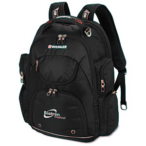 Wenger Scan Smart Tech Laptop Backpack Main Image
