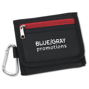 Wallet with Carabiner - Closeout Main Image