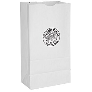 Paper Lunch Sack - White Main Image