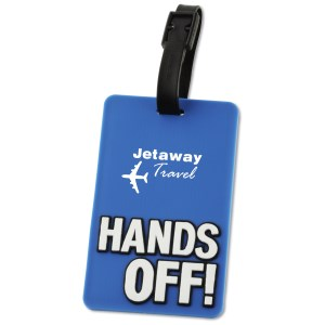Hands Off! Luggage Tag - Closeout Main Image