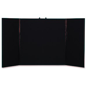 "Briefcase Tabletop Display - 32"" x 64"" - Blank Main Image"