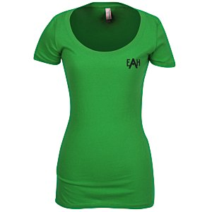 Next Level 3.8 oz. Scoop Tee - Ladies' - Screen Main Image